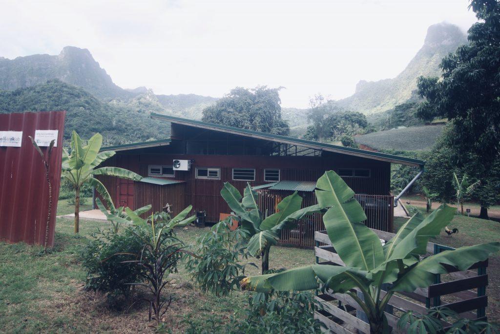 Notre bâtiment à Paopao